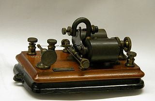 A pony relay used in late 1800's electric telegraphy communications, source: https://en.wikipedia.org/wiki/File:Pony_Relay.JPG